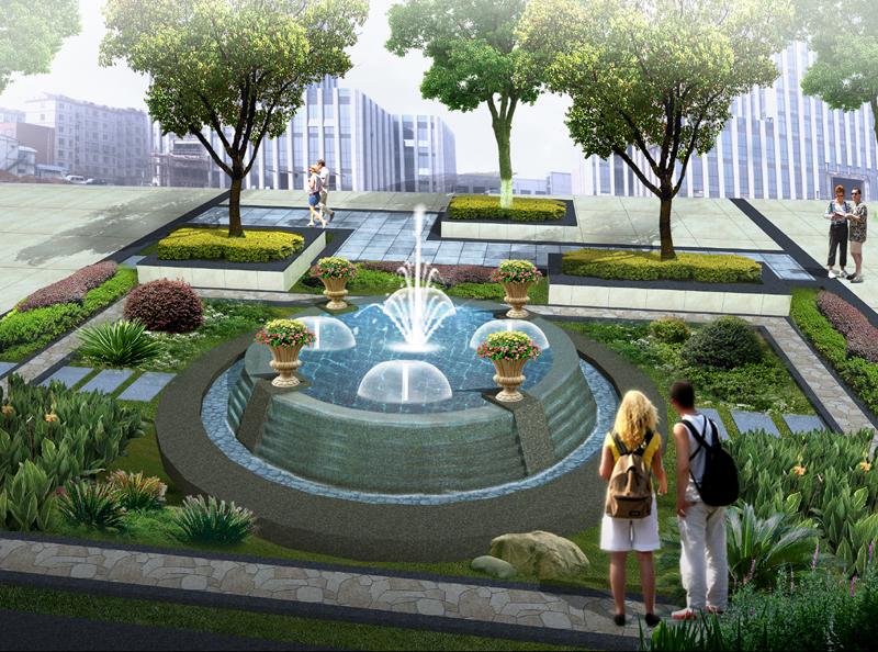 案例展示-喷泉公司,喷泉设计,音乐喷泉,山东喷泉,济南