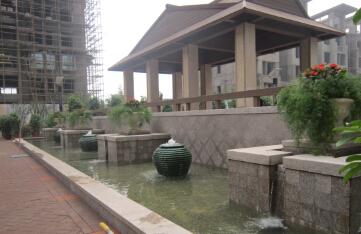 淄博上户御园景观水处理工程